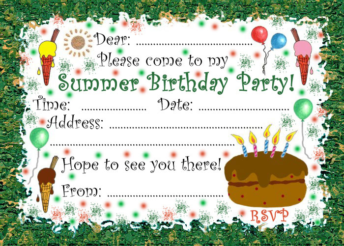 Top 3 Websites to Make Birthday Invitations Birthday Songs With – Invite to Party