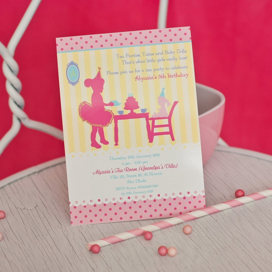 How to Make Birthday Party Invitations With Your Child - Birthday ...