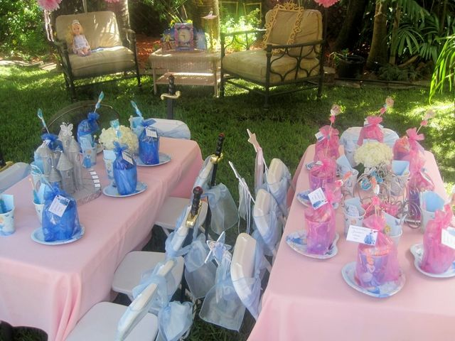 Cinderella-Birthday-Party-Decoration